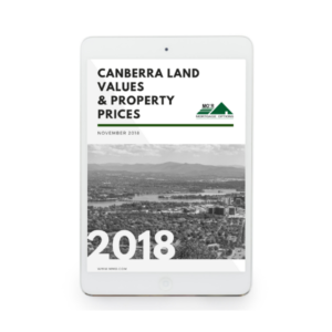 Canberra Land Values