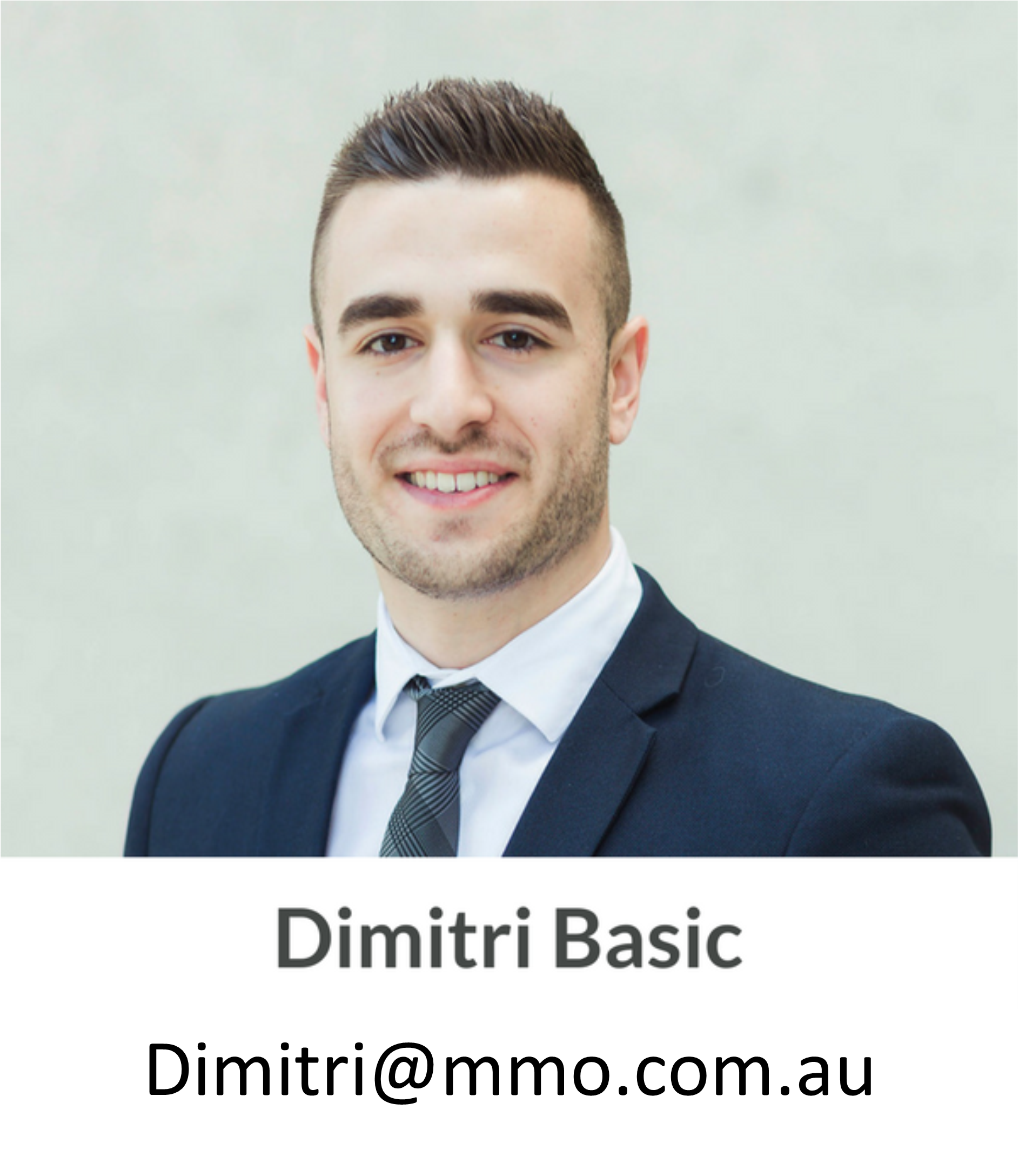 Dimitri Basic, MMO: Canberra's leading mortgage professionals