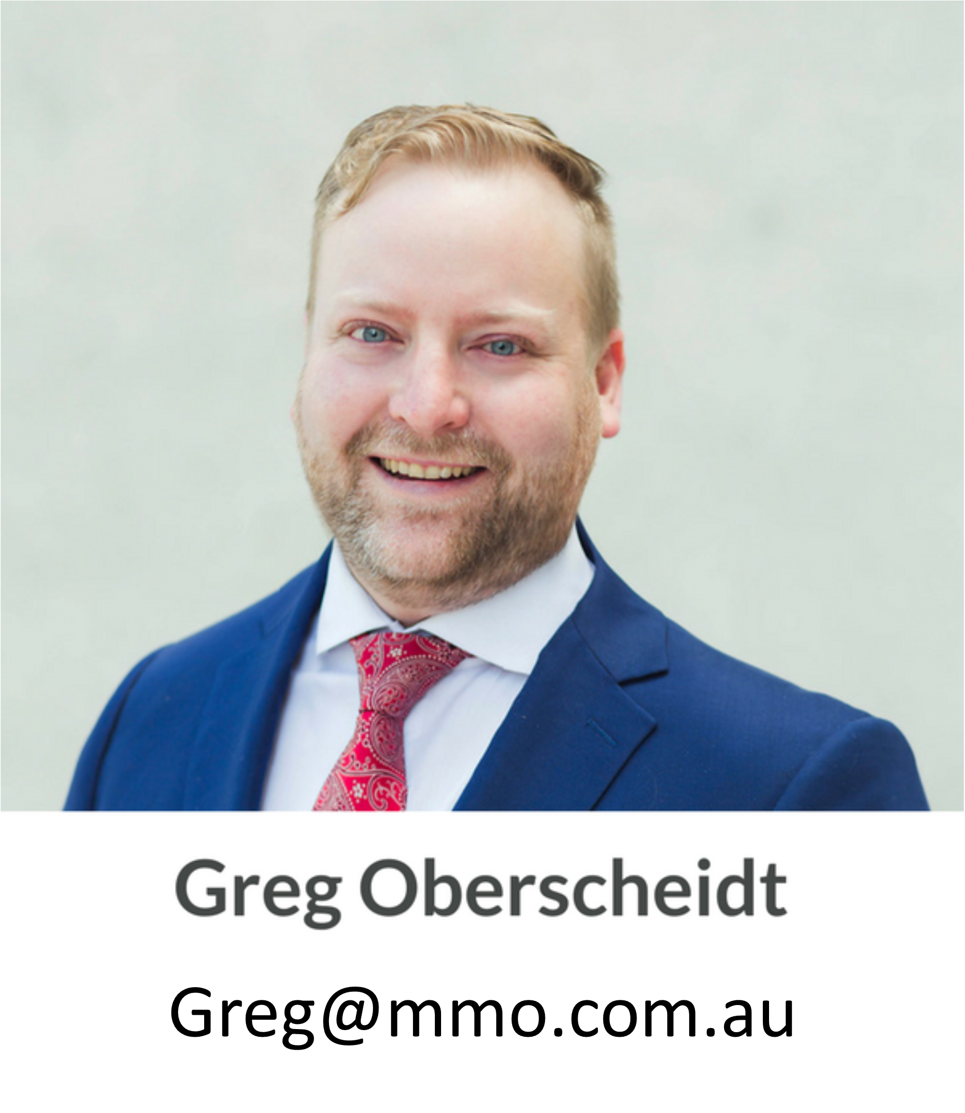Greg Oberscheidt, MMO: Canberra's leading mortgage professionals